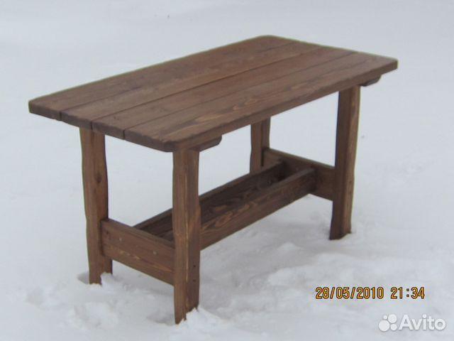 стол из дерева под старину 0713