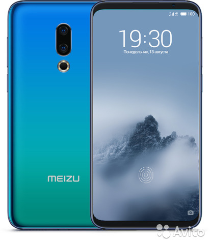 Meizu 16Th 6/64Гб Синий M882H 84012901993 купить 8