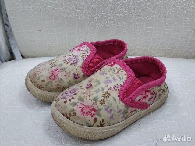 Много обуви для девочки р.21-22