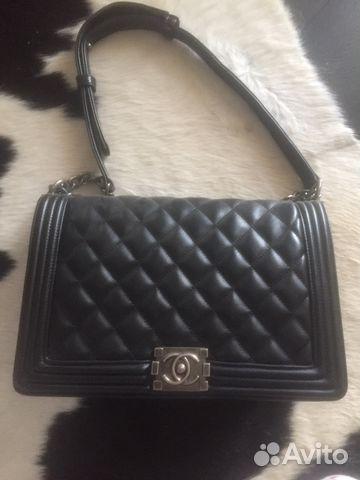 ff4906709c38 Сумки Chanel Клатч Черный Шанель Мини 2.55 Flap | Festima.Ru ...
