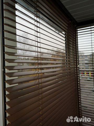 Продам жалюзи для балкона деревянные 89056242255 купить 1