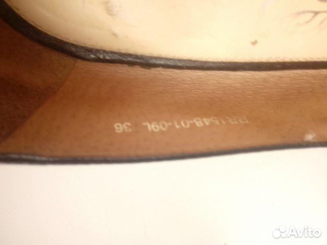 Туфли кожаные с ремешком. Эконика.Ria Rosa.36р-р 89117015256 купить 8