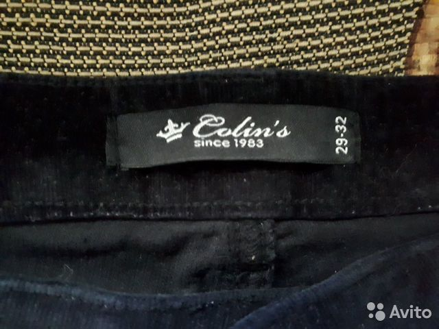 Вельветовые брюки Колинс 89066150656 купить 2