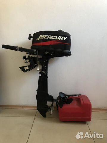 Подвесной лодочный мотор Меркурий 5м