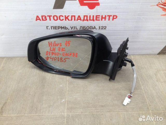 Зеркало левое Toyota Hilux с 2015 года 27658