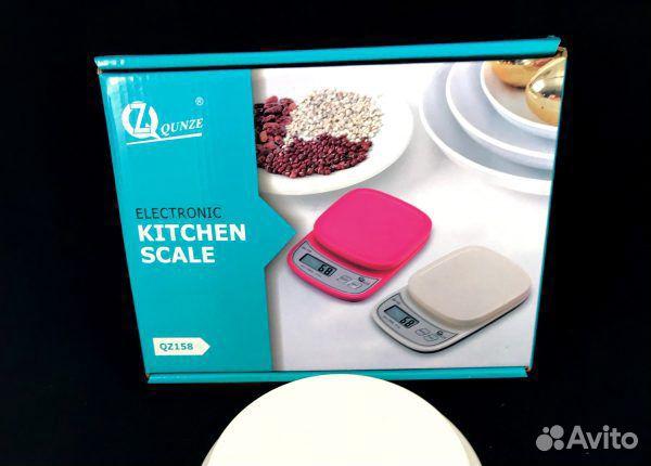 84942303606 Кухонные весы до 5 кг с подсветкой