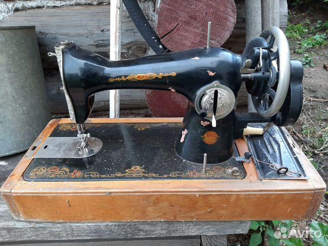 Швейная машинка чайка 1964 года 89600835863 купить 1