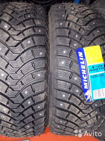 Комплект 185/60R15 Michelin X-Ice North 2 88T XL ш— фотография №1