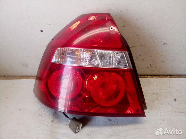89657347629  Фонарь задний левый (Chevrolet Aveo)