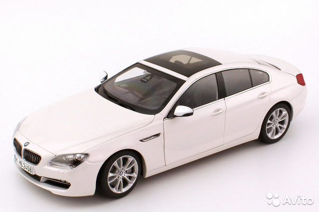 BMW 650i Gran Coupe F06, 1/18, paragon— фотография №1