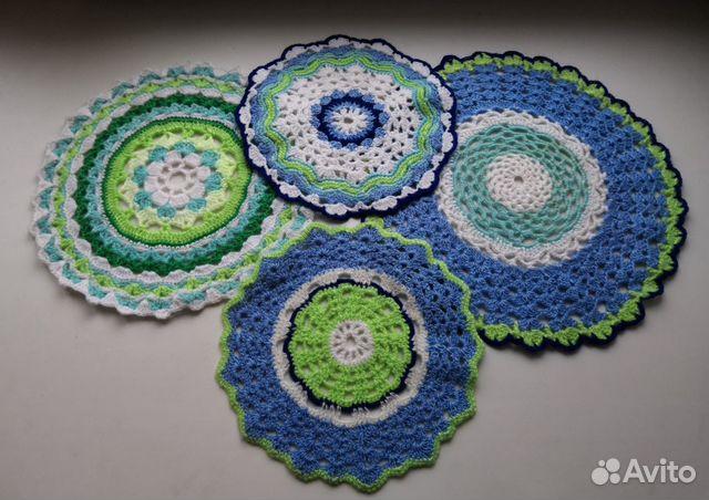 Crocheted napkins 89501043881 buy 2