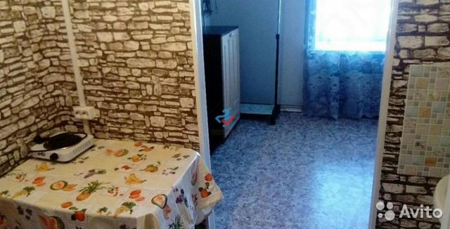 1-room apartment, 13 m2, 4/5 floor.
