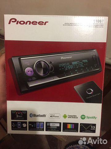 Магнитола Pioneer MVH-S510BT 89814340544 купить 3