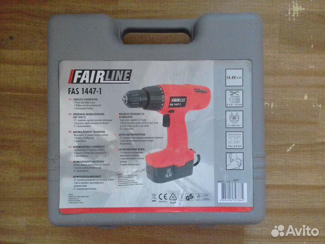 Дрель аккумуляторная FairLine FAS1447-1,новая 89990264454 купить 2