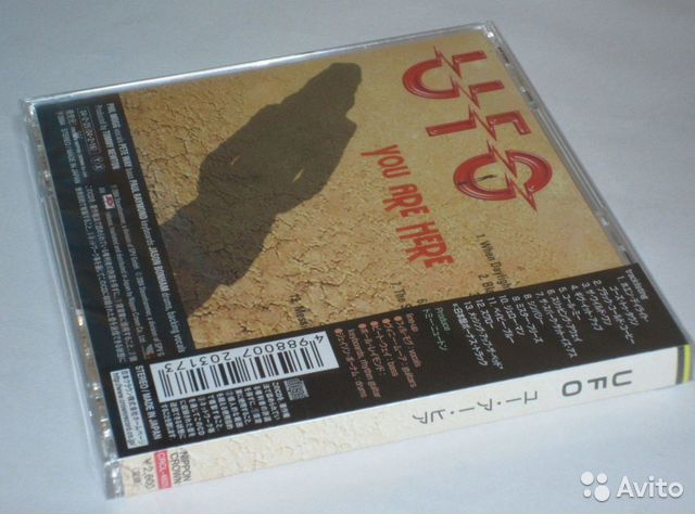 UFO - You Are Here 2004 Japan CD 1st Press новый
