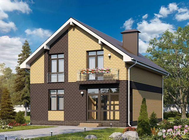 Коттедж 100 м² на участке 8 сот. 88002226041 купить 1