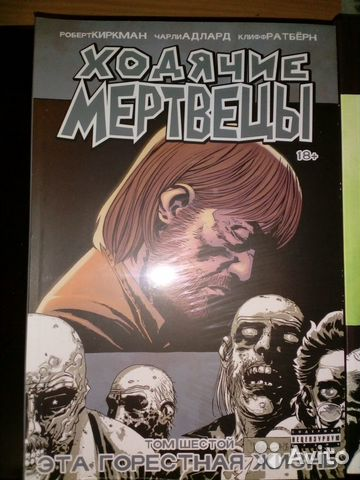 Комиксы Ходячие Мертвецы  89531102634 купить 2