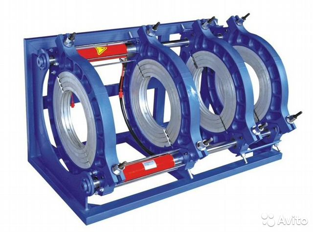 Аппарат для стыковой сварки пнд труб KDC63-315-4 88612051569 купить 2