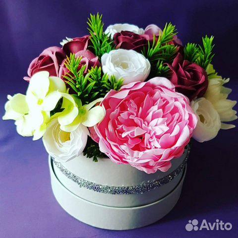 Букет из мыльных цветов купить на Зозу.ру - фотография № 3