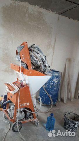 Штукатурка стен механизированным способом  89203571965 купить 1