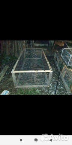Клетки для содержания кроликов птиц и цыплят 89898713107 купить 3