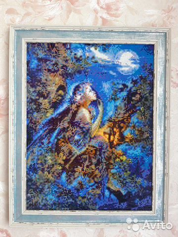 Картины алмазная вышивка и вышивка лентами  89158356890 купить 1