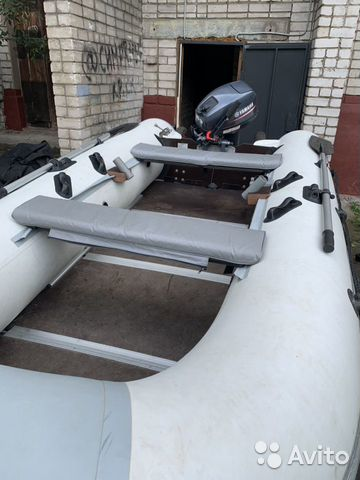 Лодка Prof Marine 360, мотор Yamaha 9.9/15