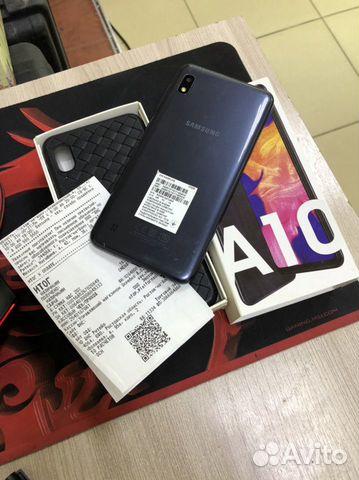 Телефон Samsung A10 2/32 коробка  89054598370 купить 1