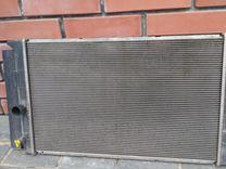 Радиатор основной тойота аурис