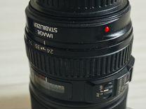 Canon mark III комплект 24-105мм и 50мм