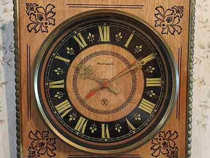 Часы янтарь настенные скупка омск продам часы