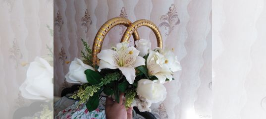708523c36218c Свадебный букет на машину купить в Ленинградской области на Avito —  Объявления на сайте Авито