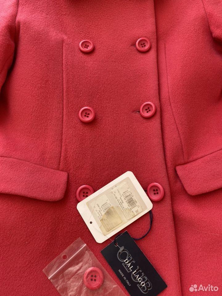 Пальто для девочки, Del Lago, 158, Италия, шерсть  89053212536 купить 1