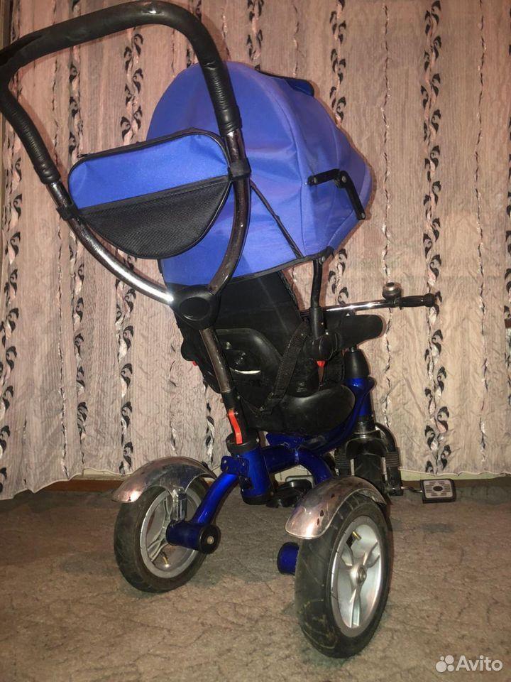 Детский трех колесный велик  89137630747 купить 3
