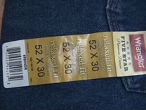 Джинсовые брюки Wrangler размер 52