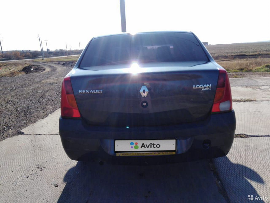 Renault Logan, 2007  89656612799 köp 3