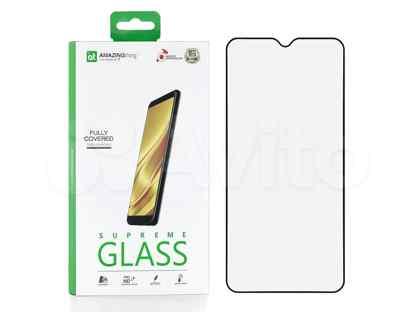 Защитное стекло Xiaomi Redmi 8A Amazingthing Silk Full Glue Black 0.33mm