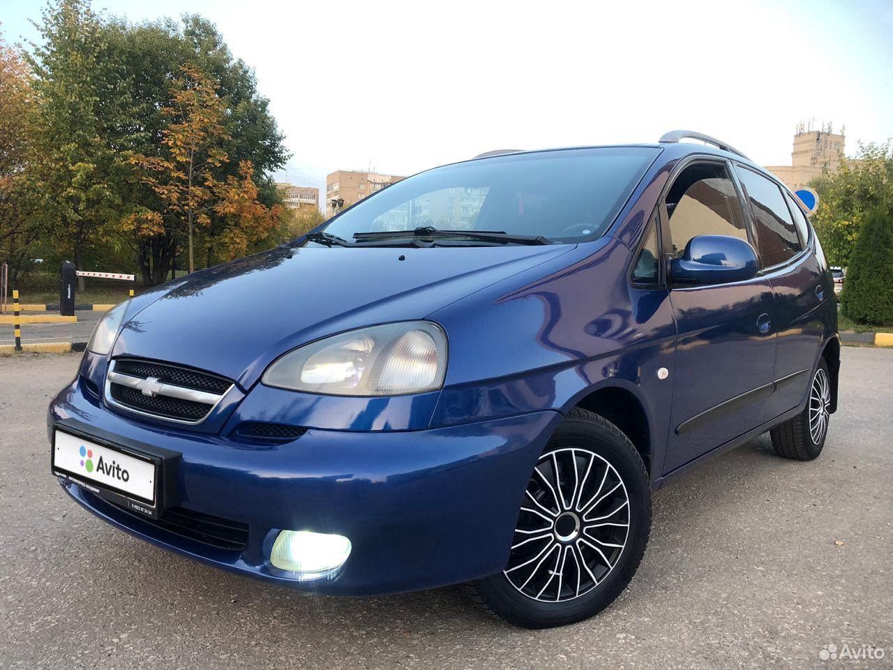 Chevrolet Rezzo, 2008  89065637466 купить 7