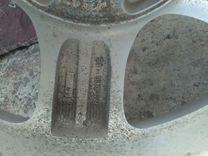 Оригинальные литые диски р 16 от хундайсантафе