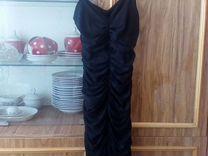Новое сжатое платье 44р