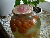 Компот абрикос-яблоко