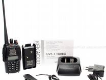 Kenwood TH-UVF1 +гарнитура ларингофон EMP-3076S