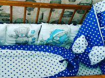 Комплект в кроватку и на выписку