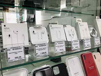 Оригинальные аксессуары Apple / Зарядки / Наушники