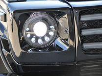Mercedes W463 Передние фары mansory стиль black