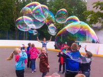 Раствор для мыльных пузырей и Шоу Мыльных Пузырей