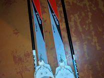 Лыжи + лыжные палки + ботинки (39)