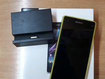Sony Xperia Z1 Compact + беспроводная зарядка