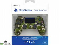 Джойстик PlayStation 4 (камуфляж-оригинал) NEW