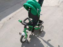 Велосипед с ручкой Mini Trike